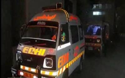 کراچی میں ناردرن بائی پاس کے قریب ٹرک اور بس میں تصادم، 5افراد جاں بحق