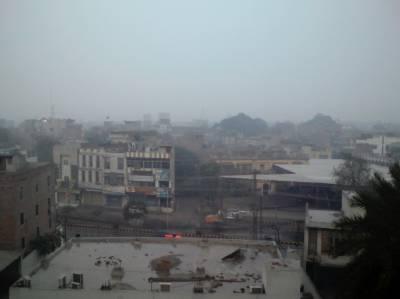 لاہورسمیت پنجاب کےمختلف علاقوں میں ہونے والی بارش سے