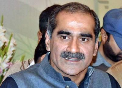 سینیٹ کنٹرول کرنے کے لیے آصف زرداری ہرجماعت کے ارکان کو خریدنے کی سازش کر رہے ہیں،وفاقی وزیر ریلوے خواجہ سعد رفیق