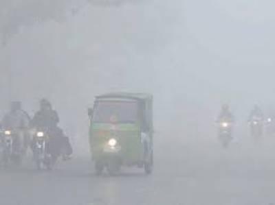 Fog In Lahore