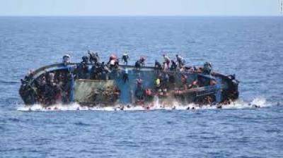 لیبیا کے قریب بحرہ احمر میں کشتی الٹنے سے 90 تارکین ڈوب کر ہلاک ہوگئے