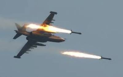 گزشتہ رات روسی طیاروں کی شام کے علاقے غوطہ پر بمباری میں 33 افراد ہلاک