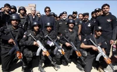 عمران خان نے خیبر پختونخوا پولیس کو بہترین قرار دے دیا