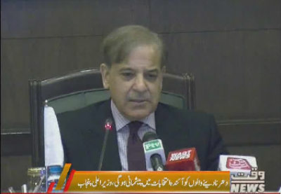 Chief Minister Punjab Shahbaz Sharif criticized the opposition