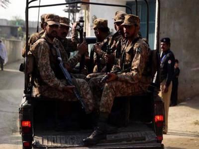 ڈیرہ غازی خان میں سکیورٹی فورسزکی کارروائی، 7 مشتبہ دہشت گرد گرفتار