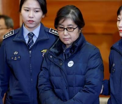 جنوبی کوریا کی سابق صدرپارک گیون ہائی کی دوست چوئی سون سل کو بیس سال قید کی سزا
