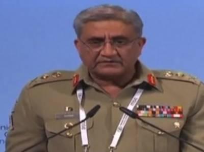 افغان سرزمین سے پاکستان پر حملے ہو رہے ہیں،دہشتگرد تنظیموں کا پاک سرزمین خاتمہ کیا, آرمی چیف جنرل قمرجاوید باجوہ
