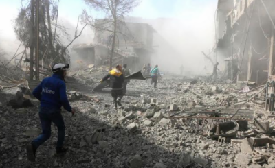 شام میں اسدی افواج اور روس نے ظلم و بربریت کی نئی داستان رقم کردی