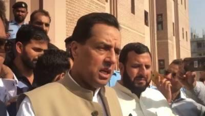 Captain Safdar Media Talk Out Side Nab Court
