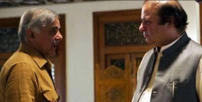 نوازشریف سے وزیراعلیٰ پنجاب شہبازشریف نے ملاقات کی، پنجاب میں نیب کی کارروائیوں،سینیٹ الیکشن سمیت ملکی صورتحال پرتبادلہ خیال کیا.