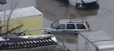 امریکہ کے شہر اوہیو میں تیز طوفان سے شہر ڈوب گیا ، 5 افراد ہلاک