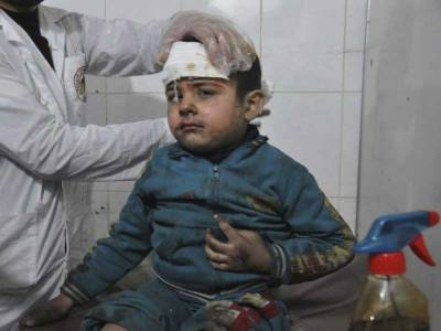 شام:غوتہ میں بمباری حملے،11افراد جاں بحق
