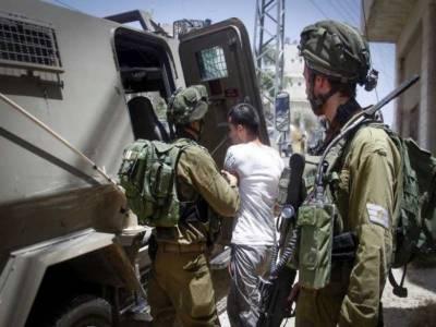 اسرائیلی افواج کی گھر گھر تلاشی، 19فلسطینی شہریوں کو گرفتار