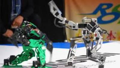 اب روبوٹس ریسلنگ کے میدان میں بھی انسانوں کی جگہ لیتے نظر آرہے ہیں