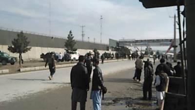 کابل کے علاقےمیں دھماکےسے 4 شہری زخمی ہوئے