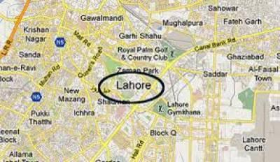 لاہور کے میں چند منٹوں میں 2مختلف مقامات پر حادثے سے 4 افراد زخمی