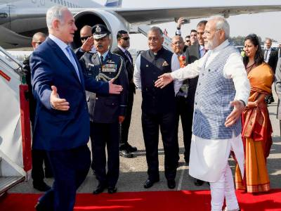 سعودی عرب نے اسرائیل کیلئے بھارتی ائرلائن کو فضائی حدود استعمال کی اجازت دی۔