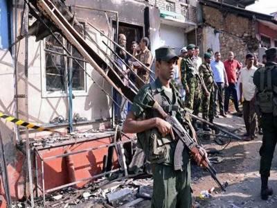 سری لنکا میں مسلم کش فسادات کے بعد ایمرجنسی نافذ