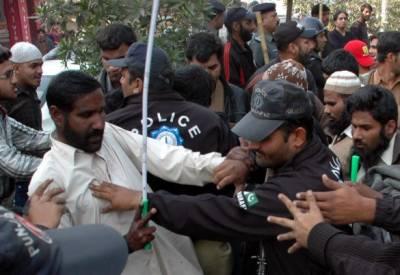 لاہورمیں نابینا افراد نے اپنا احتجاج عارضی طورپرختم کردیا
