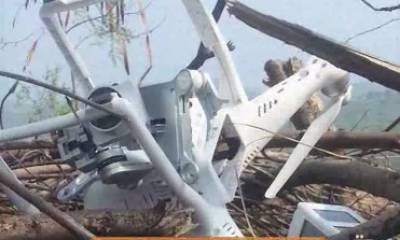پاک فوج نے بھارتی جاسوس ڈرون مار گرایا