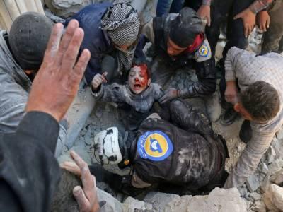 شام میں فضائی بمباری سے مزید24 افراد جاں بحق ، تعداد 800سے تجاوز کر گئی۔