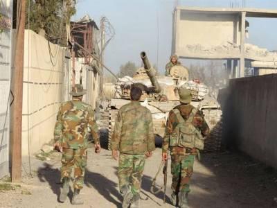 روسی فوج کی مشرقی غوطہ میں باغیوں کو ہتھیار ڈالنے کی پیشکش