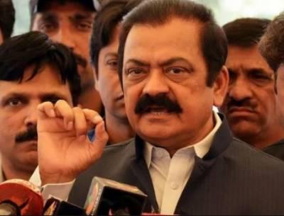 عمران خان، آصف زرداری کو ضمیروں کا سوداگر کہتے ہیں, وزیر قانون پنجاب رانا ثناء اللہ