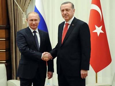 ترک صدر اور روسی ہم منصب سے ٹیلی فونک رابطہ