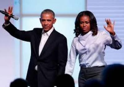 اوباما اور ان کی اہلیہ مشیل اوباما انٹرنیٹ انٹرٹینمنٹ سروس کیلئے ہائی پروفائل ٹاک شوز پروڈیوس کریں گے