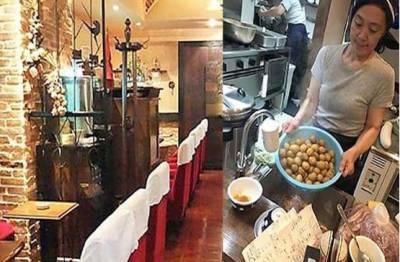 ٹوکیو میں قائم اس ریستوران میں جس گاہک کے پاس کھانے کے پیسے نہ ہوں اسے 50 منٹ تک کام کرنا پڑتا ہے