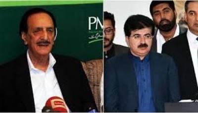 PMLN Criticize On Sadiq Sanjarani .