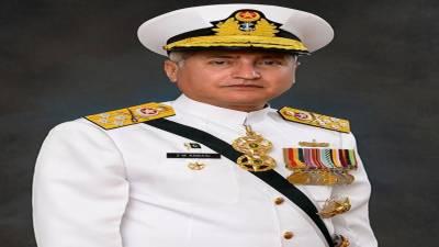پاک بحریہ کے سربراہ ایڈمرل ظفر محمود عباسی کو رائل سعودی فورسز کے اعلیٰ ترین اعزاز 'کنگ عبد العزیز میڈل آف ایکسیلنس' سے نوازا گیا
