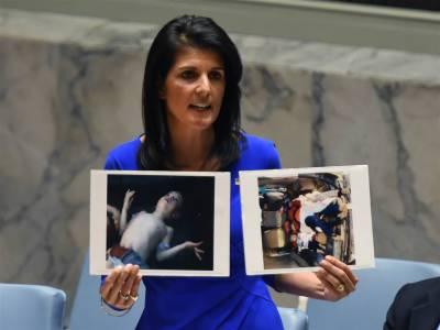 شامی حکومت کو روکا نہ گیا تو امریکا حملے پر مجبور ہوگا۔ نکی ہیلی