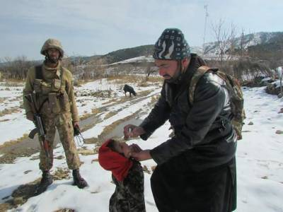 خیبرپختونخوا اور فاٹا میں 3روزہ انسدا پولیو مہم کا دوسرے روز بھی جاری