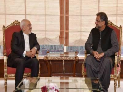 وزیراعظم سے ایرانی وزیرخارجہ جوادظریف کی ملاقات