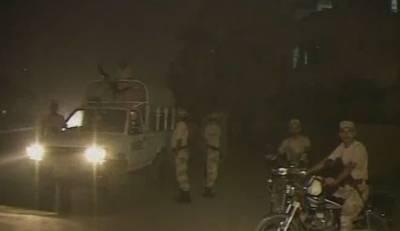 کراچی کے علاقے لیاری میں دہشتگردوں کارینجرز کی موبائل پر حملہ، ایک اہلکار شہید تین زخمی، جوابی کارروائی میں دہشتگرد ہلاک