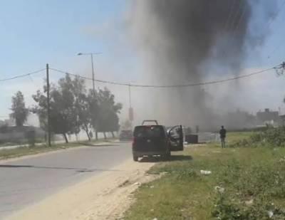 فلسطینی وزیراعظم رمی حمداللہ کے قافلے کے قریب بم دھماکا, حملے میں فلسطینی وزیراعظم محفوظ رہے تاہم پانچ افراد زخمی