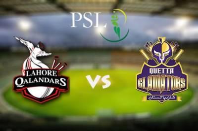 پاکستان سپر لیگ میں آج ایک میچ کھیلا جائے گا