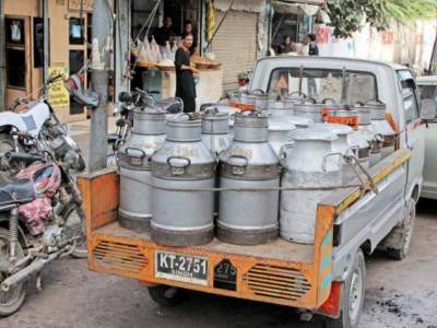 کراچی: نرخوں کا معاملہ طے نہ ہوسکا، دودھ فروشوں کی ہڑتال ، دکانیں بند