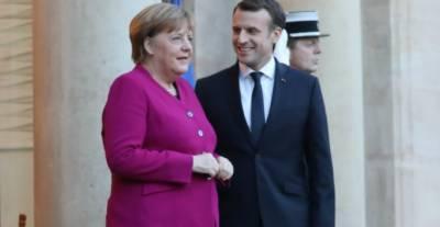 جرمن چانسلر کے دورہ فرانس کا آغاز