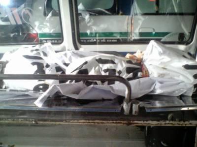 واپڈا ٹاﺅن میں سرونٹ کوارٹر کے اندر شاٹ سرکٹ سے آگ بھڑک اٹھی جس کے باعث چار افراد جھلس کر جاں بحق ہوگئے