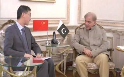 وزیر اعلیٰ پنجاب شہبازشریف سے چینی سفیر یاؤ جینگ کی لاہور میں ملاقات