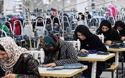 پاکستان کی مجموعی افرادی قوت میں خواتین حصہ 22.2 فیصد