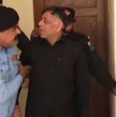 سابق ایس ایس پی راؤانوارکو اسلام آباد سے کراچی منتقل کر دیا گیا