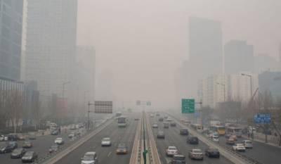 چینی دارالحکومت بیجنگ کے باسیوں کی تاحال سموگ سے جان نہیں چھوٹ سکی، حکومت کی جانب سے ایک بار پھر زرد انتباہ جاری کردیا گیا