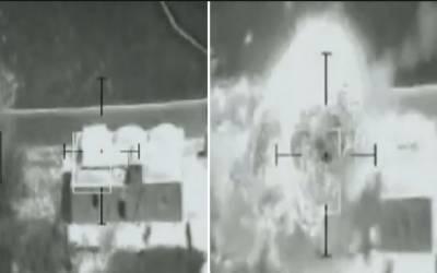 افغان ایئر فورس کا پہلی بار لیزر گائیڈڈ میزائل کا استعمال