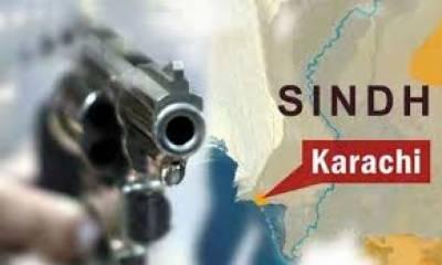 کراچی کے علاقے سائٹ اے میں پولیس نے فائرنگ کےتبادلے کے بعد ایک ملزم کو زخمی حالت میں گرفتار کرلیا
