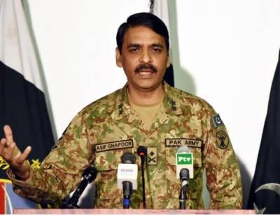 خفیہ ایجنسیاں اورافواج پاکستان دشمن کے ناپاک عزائم کو کامیاب نہیں ہونے دے رہیں۔ ترجمان پاک فوج میجر جنرل آصف غفور