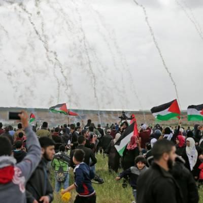 غزہ سے بیدخل کئے جانیوالے فلسیطینیوں نے واپسی کی راہ لی تو صیہونی فوج نے فائرنگ اور گولہ باری کردی