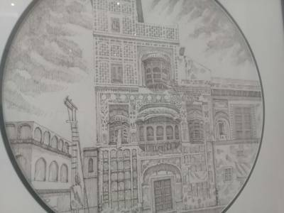 لاہور کی نجی آرٹ گیلری میں دو روزہ تصویری نمائش ہوئی